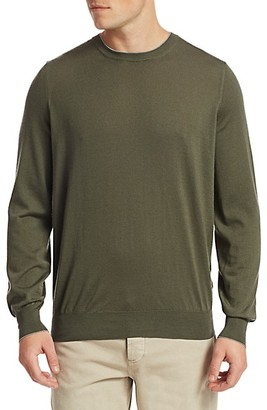 Brunello Cucinelli Virgin Wool Cashmere Crewneck Sweater