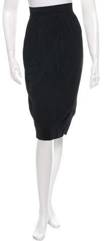Alaia Knit Midi Skirt