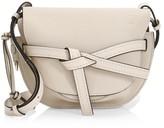 Loewe Small Gate Leather Saddle Bag