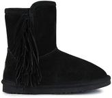 Lamo Black Sellas Suede Boot - Kids