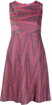 M Missoni Wave Print Dress