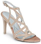 Kenneth Cole Reaction Smash-Ing Shimmer Criss-Cross Dress Sandals