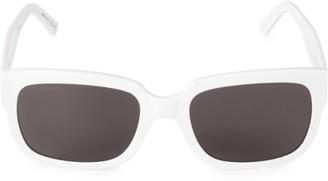 Balenciaga 55MM Square Sunglasses