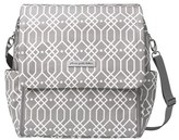 Petunia Pickle Bottom Infant 'Boxy Glazed' Diaper Bag - Grey