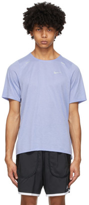 Nike Purple Rise 365 T-Shirt