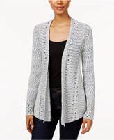 Style&Co. Style & Co Petite Open-Knit Cardigan, Only at Macy's