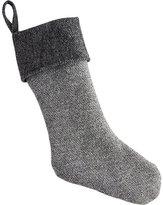 CB2 Faribault Grey Wool Stocking
