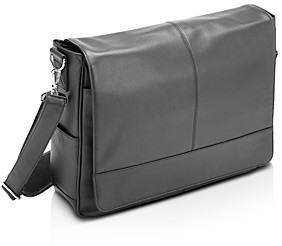 Royce New York Leather 15 Laptop Messenger Bag