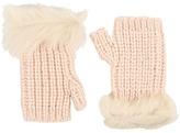 UGG Crochet Gloves w/ Lurex/Sequins/Toscana Trim