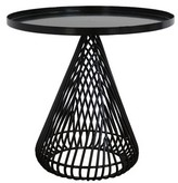 Bend Goods Cono Tray Table Color: Black