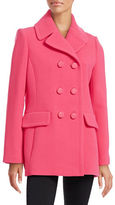 Kate Spade New York Bow-Back Wool-Blend Peacoat