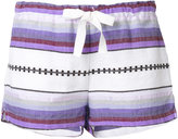 Lemlem striped shorts - women - Cotton/Acrylic - XS