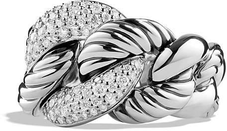 David Yurman Belmont Ring with Diamonds