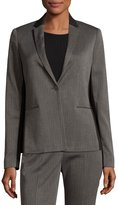T Tahari One-Button Suiting Jacket