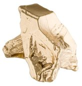 Maison Margiela Oversized Gold Nugget Ring