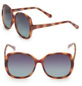 Joe's Jeans 58MM Square Sunglasses
