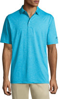 Callaway Heather Relaxed Polo Shirt, Blue
