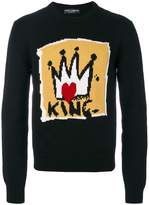 Dolce & Gabbana King intarsia sweater