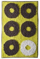 Nobrand No Brand Textured Rings Bath Rug