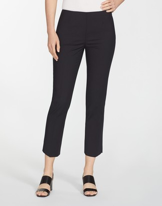 Lafayette 148 New York Petite Fundamental Bi-Stretch Lexington Pant