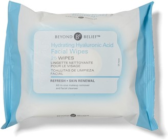 Beyond Belief Hyaluronic Acid Hydrating Wipes