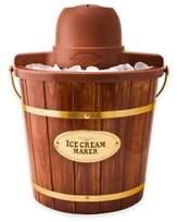 Nostalgia Electrics NostalgiaTM Electrics Old Fashioned Wood Ice Cream Maker