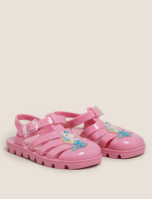 Marks and Spencer Kids' Mermicorn Jelly Shoes (5 Small- 12 Small)