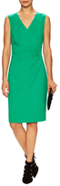 Diane von Furstenberg Layne Ruched Sheath Dress