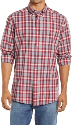 Southern Tide Flaghoist Plaid Oxford Button Down Shirt
