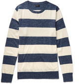 J.Crew Striped Knitted Sweater