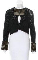 Mayle Wool Embellished Cardigan