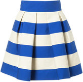 DELPOZO striped skirt - women - Linen/Flax/Polyamide/Polyester - 38