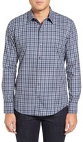 Zachary Prell Zachary Plaid McLaughlin Trim Fit Plaid Sport Shirt