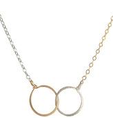 Julie Tuton Small Interlocking Circles Necklace