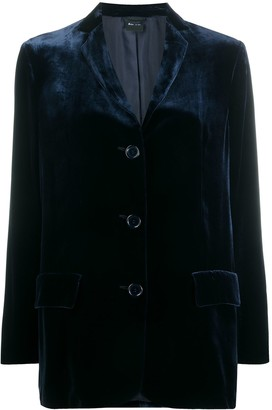 Aspesi Velvet Tailored Blazer