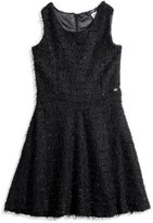 GUESS Big Girl Fuzzy Skater Dress (7-16)
