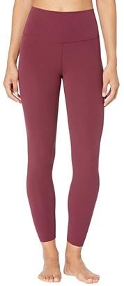 Nike Yoga Luxe 7/8 Tights (Black/Dark Smoke Grey) Women's Casual Pants