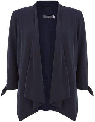 Mint Velvet Ink Tie Sleeve Jacket