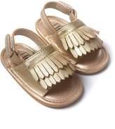 ROMIRUS Infant Toddler Sandals Baby Anti-slip Tassel Fringe Moccasin Shoes