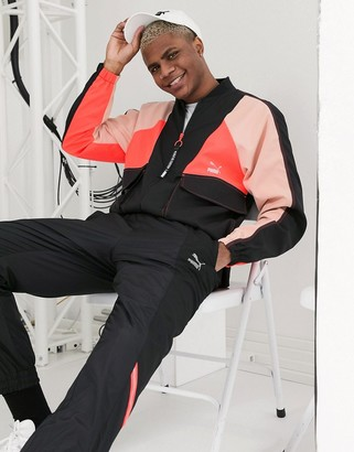Puma TFS woven sweatpants in black