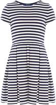Polo Ralph Lauren Girls Striped Ponte Dress