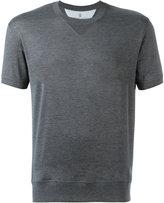 Brunello Cucinelli shortsleeved sweatshirt - men - Cotton - S