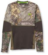 L.L. Bean Men's Under Armour ColdGear Infrared Scent-Control Evolution, Crewneck