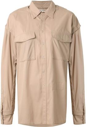 Maison Mihara Yasuhiro Chest Pocket Shirt