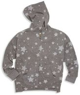 C&C California Toddler's & Little Girl's Star Printed Zipped Hoodie