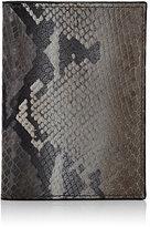 Barneys New York Men's Passport Case-GREY