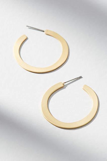 Anthropologie Shaina Hoop Earrings