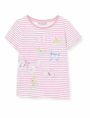 Salt&Pepper Salt & Pepper Girl's Schmetterlinge Mit Glitzerdruck Und Pailletten T-Shirt