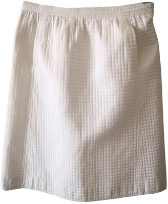 Courreges White Cotton Skirt for Women