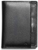 hook + ALBERT Men's Leather Bifold Wallet - Black